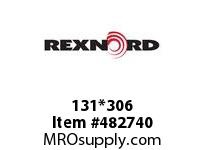 REXNORD 6168676 131*306 CST RIV