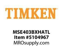 TIMKEN MSE403BXHATL Split CRB Housed Unit Assembly