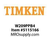 TIMKEN W209PPB4 Ball Deep Groove Radial <12 OD