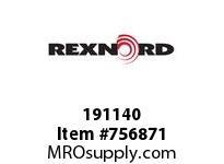REXNORD 191140 73080112801P 80 HCB 3.997 BORE W/PLLH