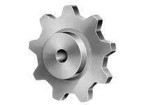 Linn-Gear H82C9 FLAME CUT SPROCKET  H1