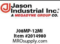 Jason J08MP-12MI ADAPTOR M NPT X M JIC