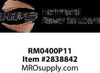 HPS RM0400P11 IREC 400A 0.110MH 60HZ CC Reactors