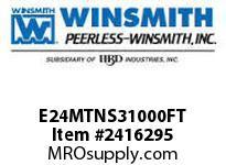 WINSMITH E24MTNS31000FT E24MTNS 50 R 56C WORM GEAR REDUCER