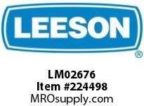 LM02676 56 Tefc 1/3Hp1800 200400000/360