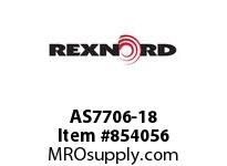 REXNORD AS7706-18 AS7706-18 AS7706 18 INCH WIDE MATTOP CHAIN WI