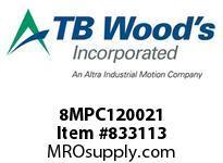 TBWOODS 8MPC120021 8MPC-1200-21 QTPCII BELT
