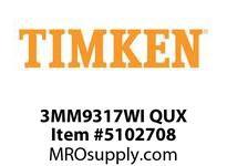 TIMKEN 3MM9317WI QUX Ball P4S Super Precision