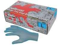 MCR 5035S SensaGuard Blue Vinyl Disposable Industrial/Food Service Grade Powder Free