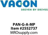 Vacon PAN-G-A-MP Enhanced NXP Fullgraphic panel with Vacon logo Option