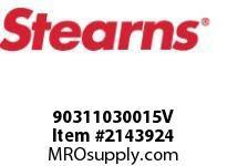 STEARNS 90311030015V TAPER BUSHING 2-5/8 BORE 8023068
