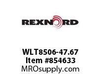 REXNORD WLT8506-47.67 WLT8506-47.66 WLT8506 47.67 INCH WIDE MATTOP CHAI