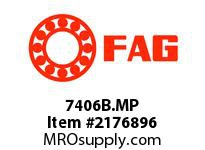 FAG 7406B.MP SINGLE ROW ANGULAR CONTACT BALL BEA