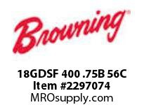 Morse MJ0789 18GDSF 400 .75B 56C GDSA/F