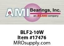 AMI BLF2-10W 5/8 NARROW SET SCREW WHITE 2-BOLT F 2 BOLT PLASTIC FLANGE
