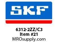 SKF-Bearing 6312-2ZZ/C3