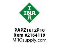 INA PAPZ1612P10 Plain bearing
