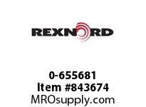REXNORD 0-655681 1/4X20X1/2 FHSS