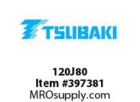 US Tsubaki 120J80 120J80 QD SPKT HT