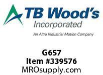 TBWOODS G657 O-RING 4 1/2F