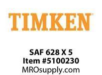 TIMKEN SAF 628 X 5 SRB Pillow Block Housing Only