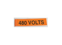 NSI VM-C-28 VOLTAGE MARKER CARD 13800 VOLTS