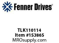 """FENNER TLK110114 TLK110 - 1-1/4"""""""