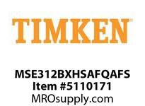 TIMKEN MSE312BXHSAFQAFS Split CRB Housed Unit Assembly
