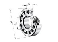 FAG 1310-K-TVH-C3 SELF-ALIGNING BALL BEARINGS