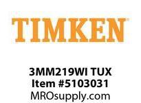 TIMKEN 3MM219WI TUX Ball P4S Super Precision