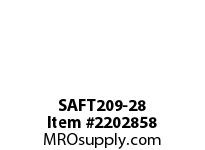PTI SAFT209-28 2-BOLT FLANGE BEARING-1-3/4 SAFT 200 SILVER SERIES - NORMAL DUT