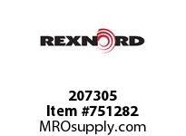 REXNORD 207305 594905 301.DBZB.CPLG STR TD