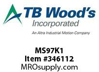 TBWOODS MS97K1 MS-97 KIT #1 SEAL KIT
