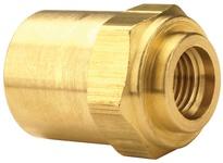"""DIXON 1800408F 1/4"""" Hose ID x 1/2"""" Hose OD Brass Reusable Ferrule"""