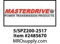 MasterDrive 5/SPZ200-2517 5 GROOVE SPZ SHEAVE