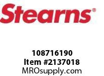 STEARNS 108716190 LF BRAKE ASSY-STD-LESS HUB 8029480