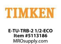 TIMKEN E-TU-TRB-2 1/2-ECO TRB Pillow Block Assembly