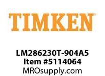 TIMKEN LM286230T-904A5 TRB Four Row Assembly 36-48 OD