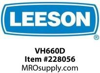 LEESON VH660D MOD - VH MOUNT FOR 660 SERIES / OUTPUT SHAFT DOWN