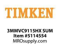 TIMKEN 3MMVC9115HX SUM Ball High Speed Super Precision