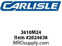 Carlisle 3610M24 Vee Rib M Carlisle