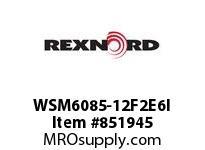 REXNORD WSM6085-12F2E6I WSM6085-12 F2 T6P N1.5 WSM6085 12 INCH WIDE MATTOP CHAIN W