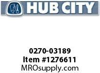 HubCity 0270-03189 ARM2S-7.182---56C