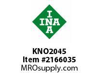 INA KNO2045 Linear aligning ball bearing