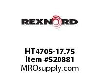 REXNORD HT4705-17.75 HT4705-17.75 148516