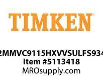 TIMKEN 2MMVC9115HXVVSULFS934 Ball High Speed Super Precision