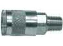 MRO 28516 1/4 MIP PARKER TRU BRASS COUPLER