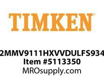 TIMKEN 2MMV9111HXVVDULFS934 Ball High Speed Super Precision