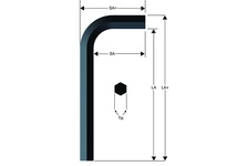 Long Series Hex-L Key 3.5MM