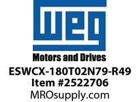 WEG ESWCX-180T02N79-R49 XP FVNR 150HP/460 N79 230/120V Panels
